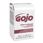 Gojo Pink & Klean Skin Cleanser 800mL Bag-in-Dispenser Refill, Floral