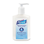Purell Moisture Therapy Instant Hand Sanitizer, 8oz Pump Bottle, White