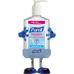 Purell Pal Instant Hand Sanitizer Desktop Dispenser w/8oz Pump Bottle, 3wx3 1/2dx8 1/2h