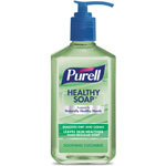 Purell Healthy Soap, Cucumber, 12oz, Pump Bottle, 12/Pack