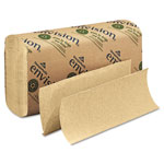 Georgia Pacific Multifold Paper Towel, 9 1/5 x 9 2/5, Brown, 250/Pack, 16 Packs/Carton