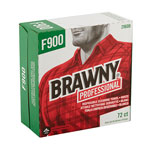 Brawny Industrial® FLAX 900 Heavy Duty Cloths, 9 x 16 1/2, White, 72/Box, 10 Box/Carton