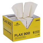 Brawny Dine-A-Cloth FLAX Foodservice Wipers, 12 3/4 x 21, White, 144/Box