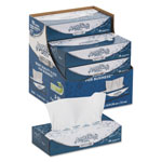 Angel Soft ps Ultra Facial Tissue, White, 2-Ply, 8.8 x 7.4, 125/Box, 10 Box/Carton