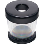 Gem Clip Dispenser, Clear/Black