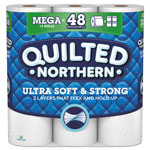 Quilted Northern Bathroom Tissue, 2-Ply, 328 Sheets/Roll, 12 Rolls/Pack, 4 Packs/Carton