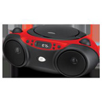 Alacer Corp. Portable Boombox, Red