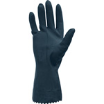 The Safety Zone Black Chemical Resistant 28 Mil Gloves