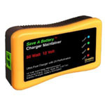 Granite Digital Save A Battery Charger and Maintainer, 50 Watt, for 12 Volt, with 10' Power Cord and 6' Cables