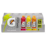 Gatorade G-Series Perform 02 Thirst Quencher, Variety Pack, 20 Oz Bottle, 24/carton