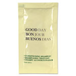 Good Day Conditioning Shampoo, 0.25 oz Tube, 500/Carton