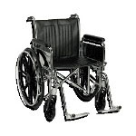 "Guardian - Sunrise Medical Easy Care 20"" Heavy Duty X-Wide Wheelchair, Swing"