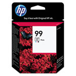 HP 99 Cyan/Magenta Ink Cartridge ,Model C9369WN140 ,Page Yield 130