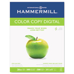 "Hammermill Color Copy Paper, 8 1/2""x11"", 98 Bright, White, 28 LB, One Ream"