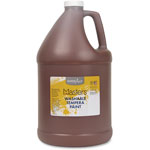 Handy Art Washable Tempera Paint, L-Mast, 1gal., Brown