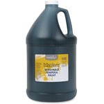 Handy Art Washable Tempera Paint, L-Mast, 1gal., Black
