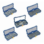 Hanson 76 Piece SAE Metric Tap and Die Set