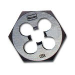 "Hanson High Carbon Steel Hexagon 1 13/16"" Across Flat Die 1"" 14 NS"