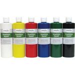 Handy Art Handy Art Tempera Paint, 8oz., 6/ST, Assorted