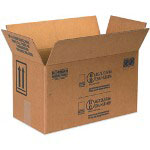 Box Partners Hazardous Materials Bulk Shipping Boxes, Holds 2 One Gallon Paint Cans