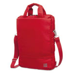 Moleskine myCloud Vertical Device Bag, 15 1/4 x 3 1/4 x 11 1/2, Scarlet Red