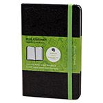 Moleskine Ruled Evernote Smart Notebook, 3 1/2 x 5 1/2, Black Cover, 192 Sheets