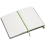 Moleskine Ruled Evernote Smart Notebook, 5 x 8 1/4, Black Cover, 240 Sheets