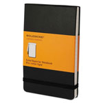 Moleskine Reporter Notebook, Ruled, 5 1/2 x 3 1/2, Black Cover, 192 Sheets