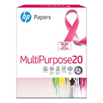 "HP Multipurpose Paper, 8 1/2""x11"", 96 Bright, White, 20 LB, One Ream"