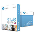 HP White Copy Paper, 8 1/2 x 11 (Letter), 92 Bright, 20 lb, 500 Sheets Per Ream, Case of 5 Reams