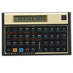 HP 12C 12c Financial Calculator, Numeric, Amortization, 10 Digit, Soft Case