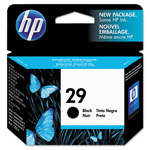 HP 29 Black Inkjet Cartridge, Model 51629A