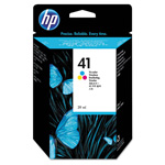 HP 41 Cyan/Magenta/Yellow Ink Cartridge ,Model 51641A ,Page Yield 6000