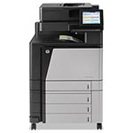 HP Color LaserJet Enterprise flow M880z Multifunction Laser Printer, 2100 Sheet Cap