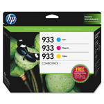 HP B3B32FN140 Ink/Photo Paper Combo Value Pk, Cartridges, Photo Paper, Swatch Book