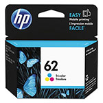 HP C2P06AN (HP 62) Ink, 165 Page-Yield, Tri-Color