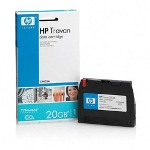 HP Travan Data Tape, TR5 Format, 10GB, 20GB Compressed
