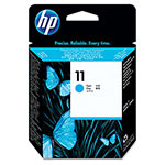 HP 11 Cyan Inkjet Cartridge, Model C4811A, 24,000PGS Page Yield
