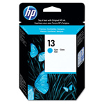 HP 13 Cyan Ink Cartridge ,Model C4815A ,Page Yield 1000