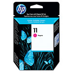 HP 11 Magenta Inkjet Cartridge, Model C4837A, 2,350PGS Page Yield