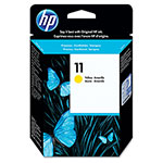 HP 11 Yellow Inkjet Cartridge, Model C4838A, 2,350PGS Page Yield