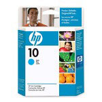 HP 10 Cyan Ink Cartridge ,Model C4841A ,Page Yield 1650
