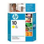 HP 10 Yellow Ink Cartridge ,Model C4842A ,Page Yield 1650