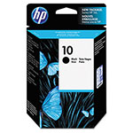 HP 10 Black Inkjet Cartridge, Model C4844A, 2,200PGS Page Yield