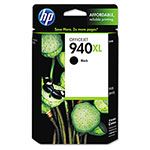 HP 940XL Black Ink Cartridge ,Model C4906AN ,Page Yield 2200