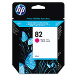 HP 82 Magenta Ink Cartridge ,Model C4912A ,Page Yield 1400