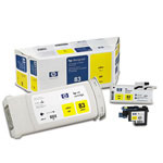 HP 83 Yellow Ink Cartridge ,Model C5003A ,Page Yield 2200