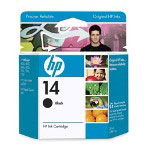 HP 14 Black Ink Cartridge ,Model C5011DN ,Page Yield 800