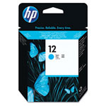 HP 12 Cyan Ink Cartridge ,Model C5024A ,Page Yield 105000