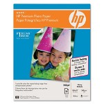 HP Premium Photo Paper, Glossy, 8 1/2 x 11, 15 Sheets/Box